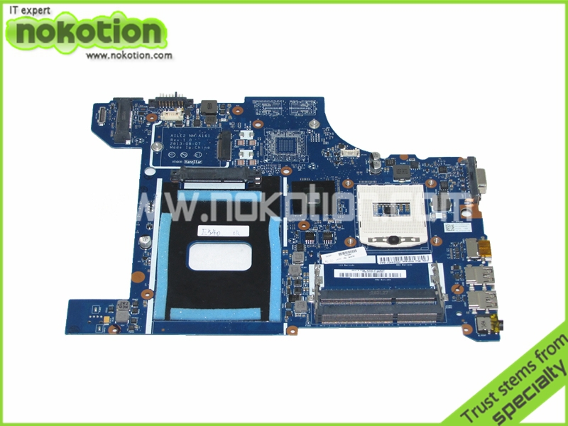 NOKOTION Motherboard for Lenovo ThinkPad edge E540 FRU 04X4781 Mother Boards AILE2 NM-A161 HM87 GMA HD5000 DDR3 Laptop Mainboard цена