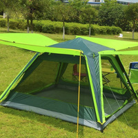 Camel 3 4 Camps, Double Camping, Full Automatic Tent, Multi People Decker Camping Tent.