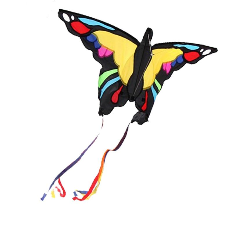 Профессиональный спорт на открытом воздухе Новый 1,37 м Австралийский бабочка воздушный змей/детский воздушный змей с веревкой и ручкой хоро