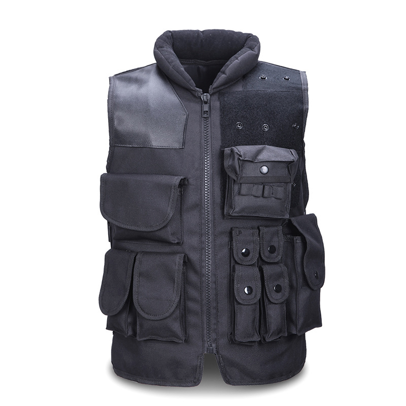 Unloading Tactical Outdoor Vest Military Airsoft Camping Many Pockets Vest Field Battle Waistcoat Cs Combat Uniform Hiking Vests