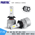 S2 H4 H7 H13 H11 H1 9005 9006 H3 9004 9007 9012 COB 72W 8000Lm LED Car Headlight Bulbs Led Driving Light Auto Front Fog Lamp