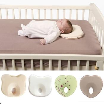 Almohada de bebé en forma de bebé, posicionador de sueño para niño...