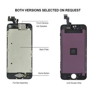 Image 3 - Affichage de qualité AAA pour iPhone 5 5S 5C SE LCD écran tactile assemblée numériseur remplacement ensemble complet Clone Module caméra + bouton daccueil