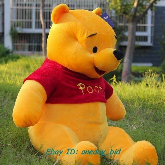 5412f789ff87 The new giant stuffed bear Winnie the Pooh dolls one hundred cm   38