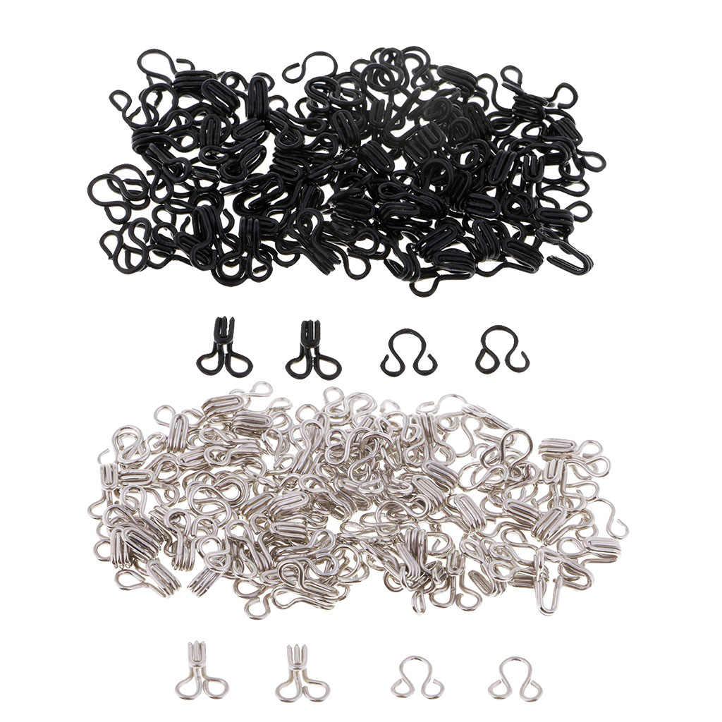 50 zestawów metalowe haczyki do szycia i zamknięcie oczu dla majsterkowiczów odzież spodnie akcesoria do sukni