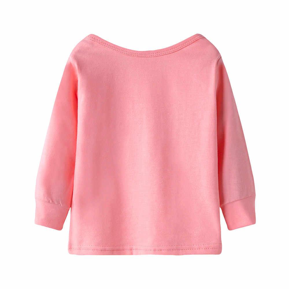 bee36be1b868 ... Cute Baby Girls T-shirt Long Sleeve Heart Print Tops T Shirt Clothes  Outfits Kids ...