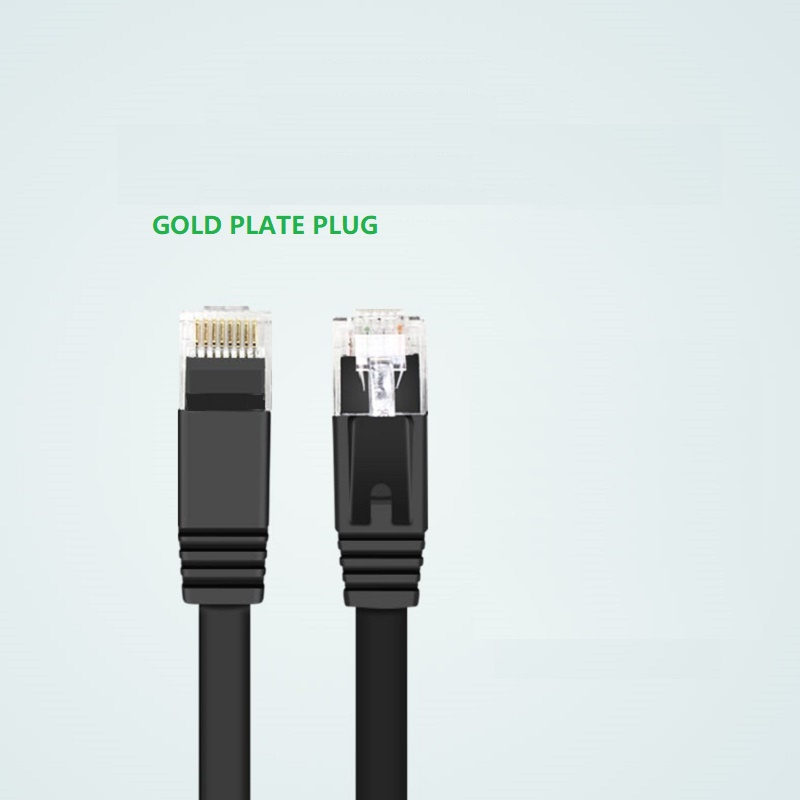 6PacK-Flat-Internet-Network-Cable-Cat6-Computer-Cable-short-Cat6-Ethernet-Patch-Lan-Cable-With