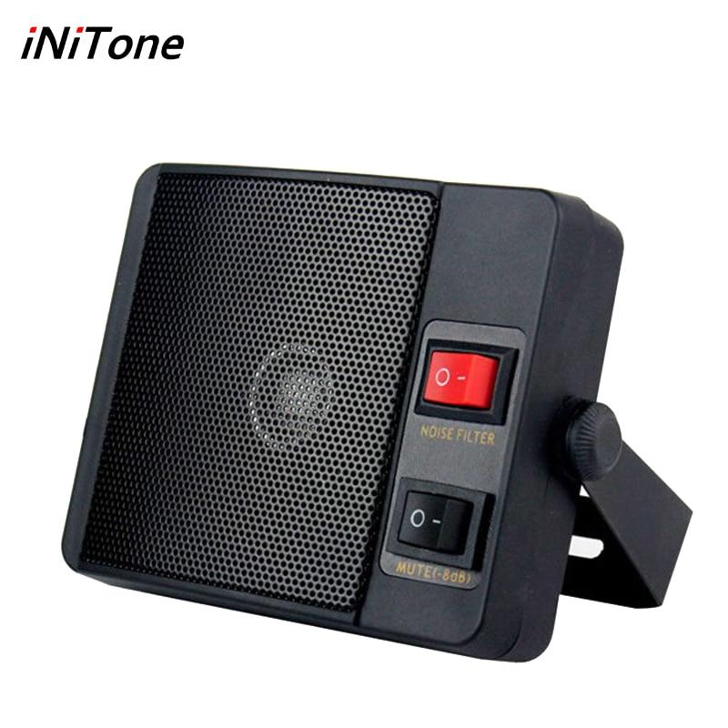 3.5mm Diamond  Heavy Duty TS-750 External Speaker For Walkie Talkie QYT YAESU ICOM KENWOOD CB Two Way Radio Car Mobile Radio