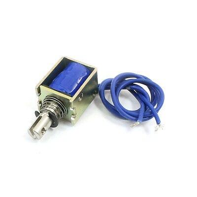 4N 10mm DC 12V/DC24V Open Frame Pull Type Solenoid Electromagnet HCNE1-0520 24v pull hold release 10mm stroke 6 3kg force electromagnet solenoid actuator