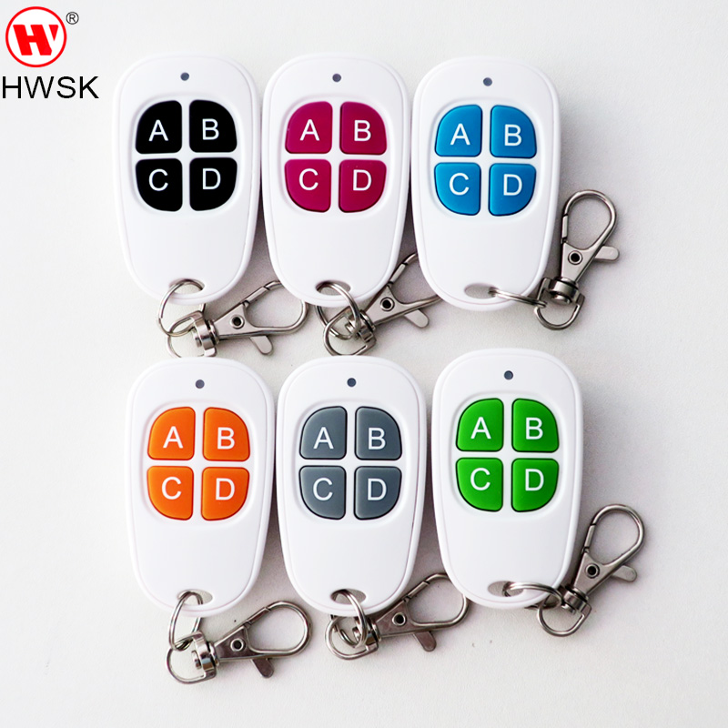 US $37 8 10% OFF White color 434MHz No  A fixe code copy remote for SK 668  remote master/lock smith tool/digital counter remote SK038 2018 newest-in