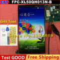 100% Nova Tela Lcd de Tela LCD China i9502 i9500 S4 SmartPhone FPC-XL50QH013N-B tela lcd + ferramenta