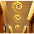 Потолочный светильник современный светодиодный свет RGB 7 цветов дистанционное управление настенное бра алюминиевое украшение для потолка ...