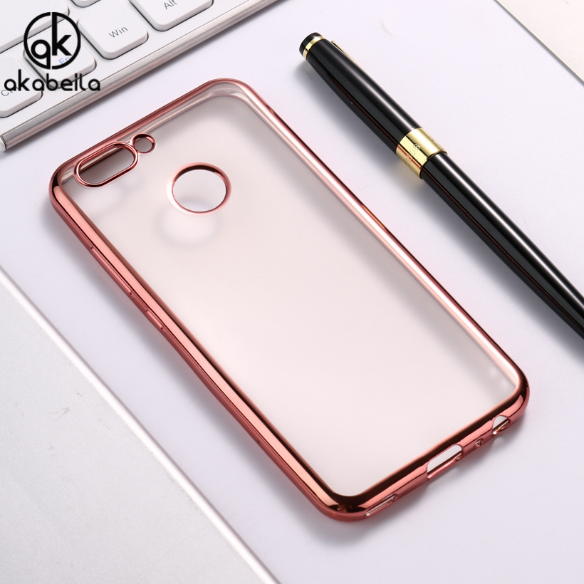 AKABEILA Transparent Cases For Huawei Nova 2 plus Soft TPU Cases For Huawei Nova2 plus Case Silicon Cover For Huawei Nova 2 plus