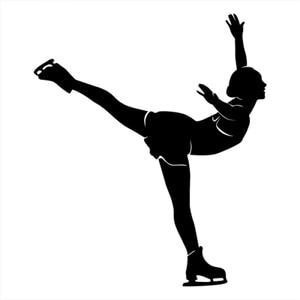 30x28cm Modern Figure Skating