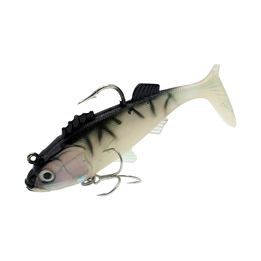 Image 2 - WLDSLURE 1Pcs 11.5cm/37g Artificial Fishing Soft Lures Sharp Hook lead Fishing Lure Lead Head Silicone Bait Fishing Tackle Lure-in Fishing Lures from Sports & Entertainment