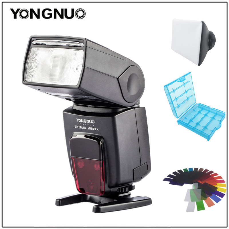 YONGNUO Speedlite YN585EX P-TTL Wireless Camera Flash for Pentax K-70 K-50 K-1 K-S1 K-S2 K3II K5 K50 KS2 K100 K-500 K-3 etc. new yongnuo flash yn585ex p ttl wireless flash speedlite for pentax k 70 k 50 k 1 k s1 k s2 k3ii k5 k50 ks2 k100 camera
