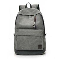 DIDA BEAR 2017 Women Men Canvas Backpacks Large School Bags For Teenager Boys Girls Travel Laptop