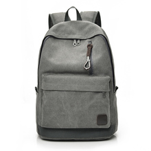 Women Men Canvas Backpacks For Teenager Boys Girls