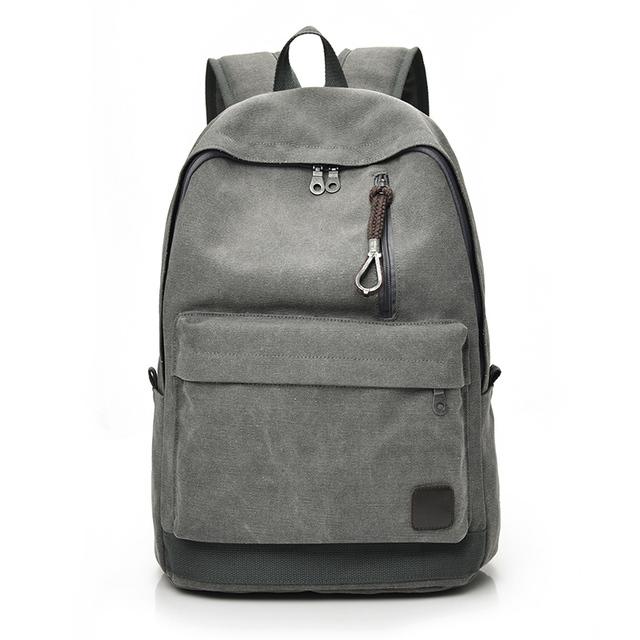 Men Canvas Backpack