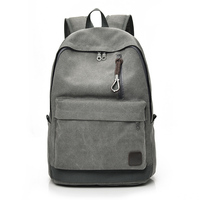 DIDA BEAR 2017 Women Men Canvas Backpacks Large School Bags For Teenager Boys Girls Travel Laptop