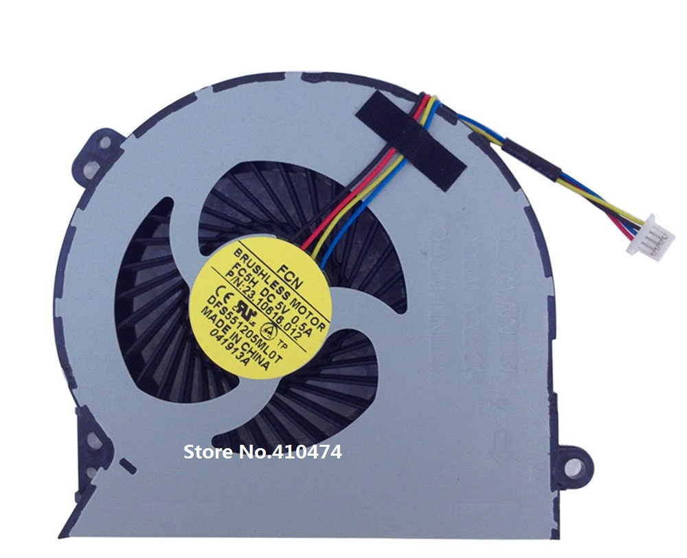 SSEA Nouvel ordinateur portable CPU Ventilateur pour HP 4540 4540 S 4545 S 4740 S ordinateur portable cpu ventilateur de refroidissement DFS551205ML0T FC5H