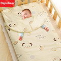 Dajinbear Baby Sleep Bag For Winter sleepsack Soft Cotton Child Kick Baby Sleep Set Cute Print Born 100cm*60cm bed set Thick New