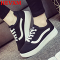 HEVXM Women Canvas Shoes 2016 Candy Colors Zapatos Mujer Casual Shoes Fashion Casual Shoe Women Ladies White Black Women Shoes
