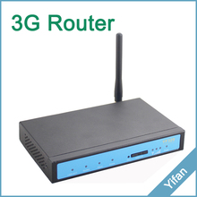 YF320 Series High speed 21Mbp HSPA Rugged industrial 3G router with Din Rail mounting for ATM