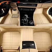 AutoDecorun Custom Fit Car Floor Mats For Chevrolet Camaro Spark Car Mats PVC Leather Cars Carpets Styling Interior Accessories