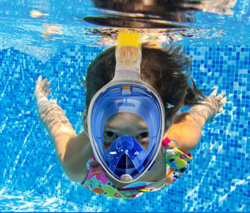 Wholesale 10pcs lot underwater Snorkel Mask Anti Fog full face diving mask