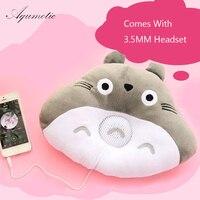Подушка Aqumotic Totoro  наушники  подушка для обеденного перерыва  симпатичная дорожная подушка для детей с гарнитурой  мягкая  комфортная  для от...