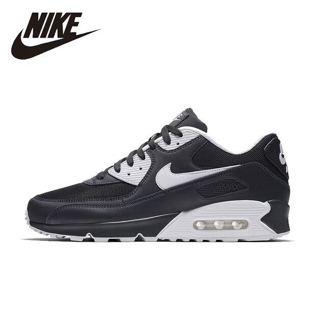 size 40 55c73 00214 NIKE AIR MAX 90 ESSENTIAL Mens Running รองเท้าตาข่าย Breathable รองเท้า  Super Light รองเท้าผ้าใบสำหรับ