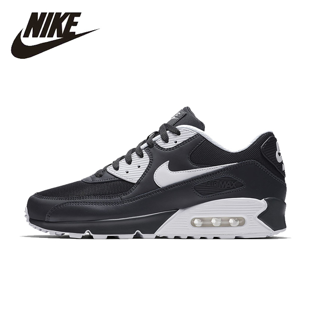 online retailer bea47 d6bc3 NIKE AIR MAX 90 ESSENTIAL Original Mens Running Shoes Mesh Breathable  Footwear Super Light Sneakers For Men Shoes 537384-089