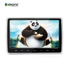 """10.1 """"pulgadas HD 1024*600 de Pantalla táctil auto Del Coche Reposacabezas monitor Reproductor de DVD TFT LCD Monitor con Juego disco USB SD Remoto Control"""