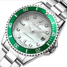 reloj relogio Waterproof Women Watch zegarki meskie New Top Luxury brand Gold Stainless Steel Men Sports Quartz Watches Clock