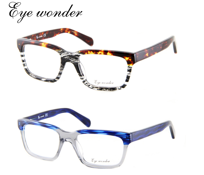 Wholesale Top brand Europe and American Vintage Retro acetate ...