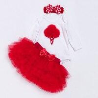 YK Loving Baby Girl Tutu Skirt Sets 2016 Summer Newborn Infant Cotton Romper Toddler Wear Skirt