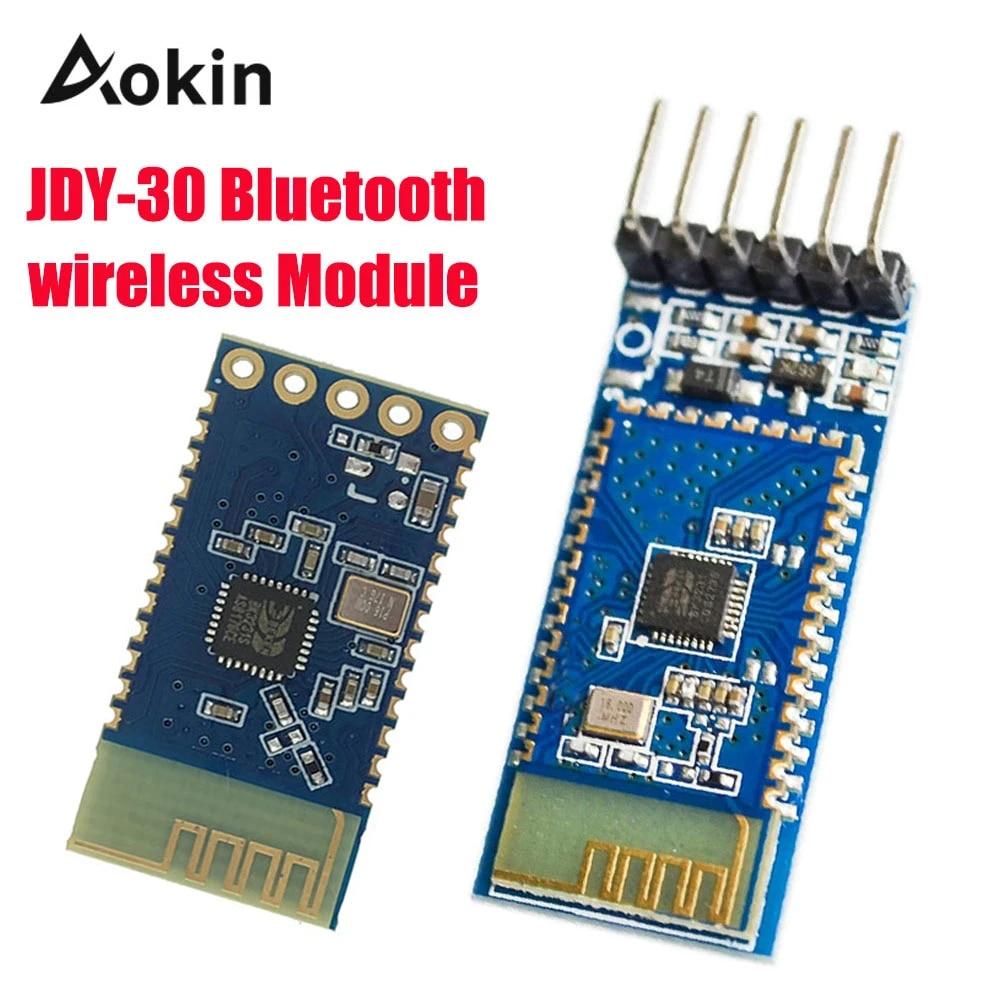 JDY-30 bluetooth serial pass-through module wireless SPP-C replace HC-05 HC-BDA