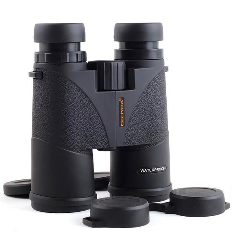 10 x 42 HD Binoculars Telescope Zoom Optic Lens Spotting Scope Binoculars Coating Lenses Night Vision Nitrogen FMC Waterproof цена и фото
