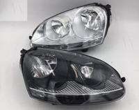 eOsuns OEM headlight assembly for volkswagen VW Jetta Sagitar golf 5 variant 2006 2010, 2pcs