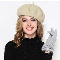 Classic Berets 2018 Women Berets Cap Spring Winter Hat for women Cotton Vintage Solid Colors Soft Beanie Hat Ladies Luxury Caps