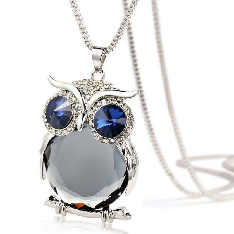 Charming Owl Pendant Women's Necklace 2