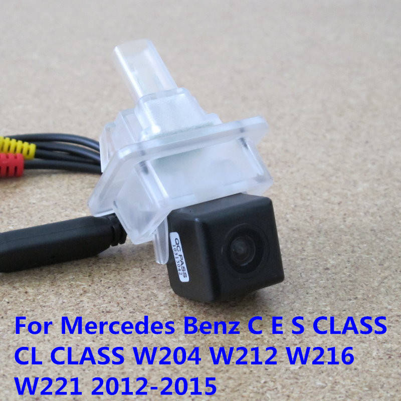 CCD Night Vision Car RearView Reverse Backup Parking Camera For Mercedes-Benz C E S CLASS CL CLASS W204 W212 W216 W221 2012-2015
