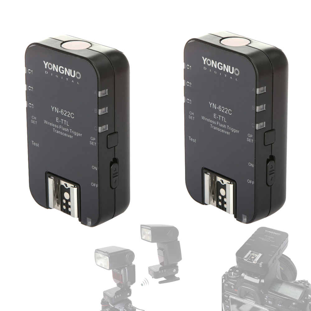 YONGNUO YN622C YN-622C 622C Wireless ETTL HSS 1/8000S Flash Transceiver Receiver For Canon Support YN568EX II YN-568EX II YN685C аксессуар phottix strato ii receiver for canon 15656