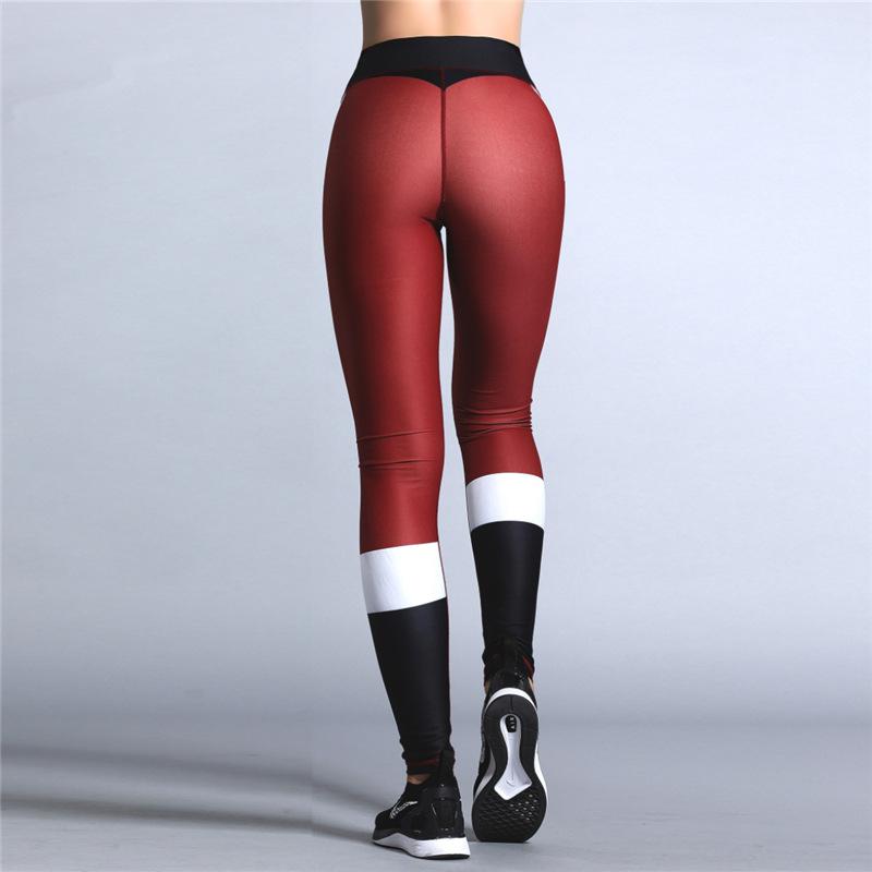 e14712829a94d7 ... 2018 Christmas Printing Leggings Put Hip Elastic High Waist Legging  Breathable Merry Christmas Pants 10 ...