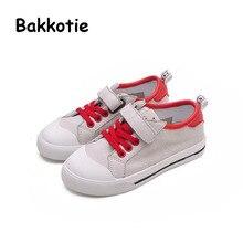 Bakkotie 2017 Fashion Children Spring Autumn Baby Boy Casual Sneaker Kid Brand Leisure Sport Shoe Girl Trainer PU Leather Black