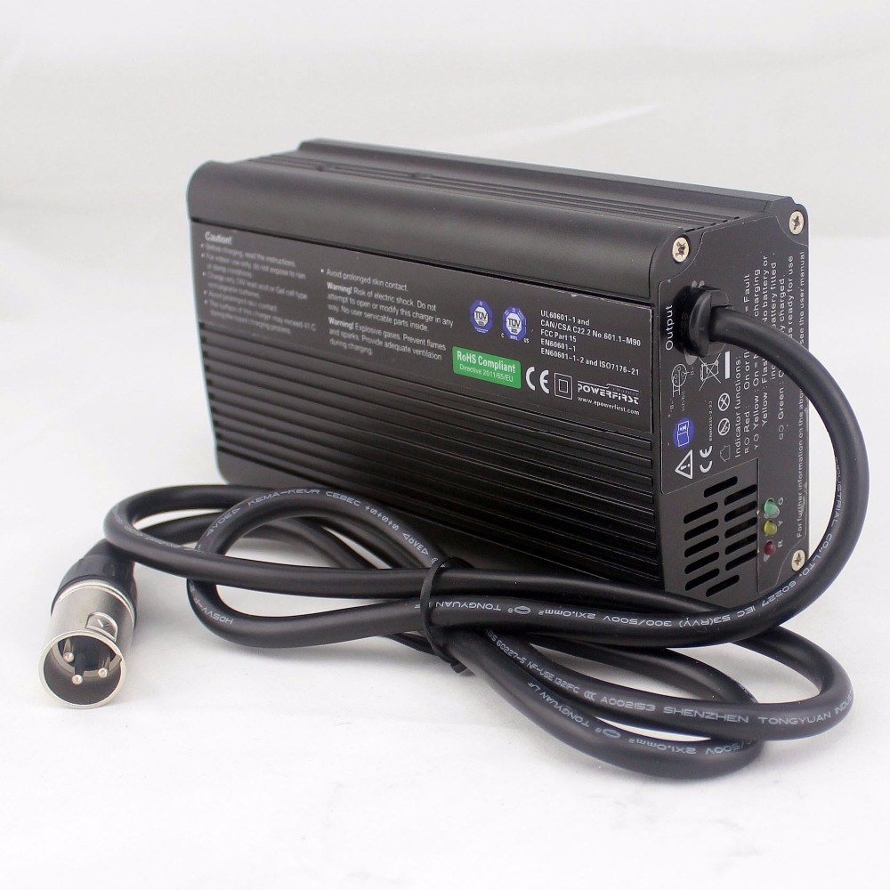 24V 8A lead acid AGM and Gel battery Charger with PFC Power Factor Correction circuit For