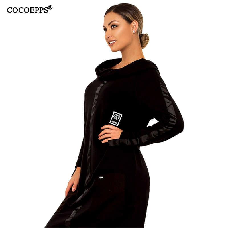 2019 5XL 6XL, женское платье большого размера, Осень-зима, длинное платье, плюс размер, свободное платье, женское Повседневное платье с высоким воротом, большие размеры, теплые платья