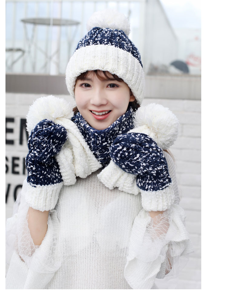 at and scarf set hat and scarf women\`s knitted hat and scarf for women Hat & Glove Sets hat and scarf set winter hat and scarf sets (11)