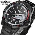 Vencedor relógio moda relógios homens homens automática de alta qualidade loja de fábrica frete grátis WRG8029M4B3